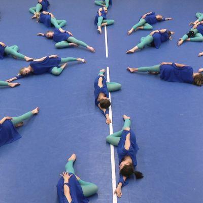Gruppen Dansant gymnastik i Northern Lights