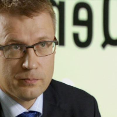 Esko Hannula, verkställande direktör på IT-företaget Qentinel