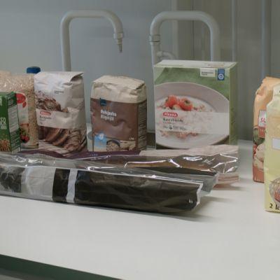 Här är livsmedlen Spotlight lät testa vid Åbo universitet.