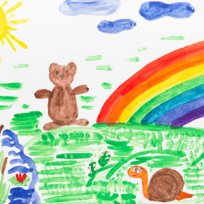 Marja Hintikka Live, lasten piirustukset