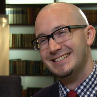 Den amerikanske författaren Ryan Gattis