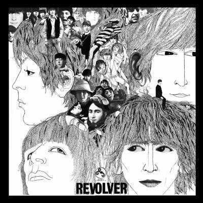 Skivomslaget till the Beatles Revolver
