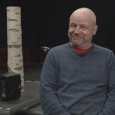 Skådespelaren Sixten Lundberg