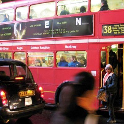 Ruuhkabussi Lontoossa