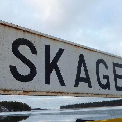 Gamla Skagen-färjan.