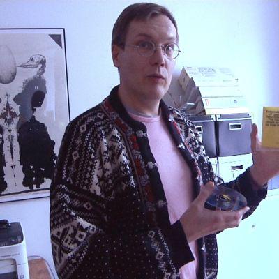 Tom Backström på cd-r-bolaget Erikoisdance.
