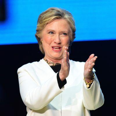 Hillary Clinton i Philadelphia den 5 november 2016.