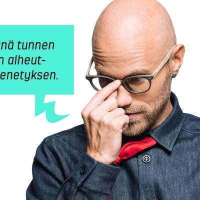 Heikki Soini ja puhekupla: Vasta isänä tunnen kuoleman aiheuttaman menetyksen