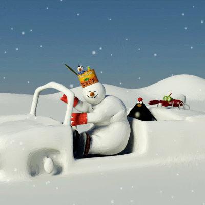 Albi lumiukko