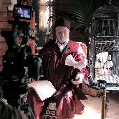 Bildkonstnären Carolus Enckell föreställer Ferdinand von Wright i dokumentär