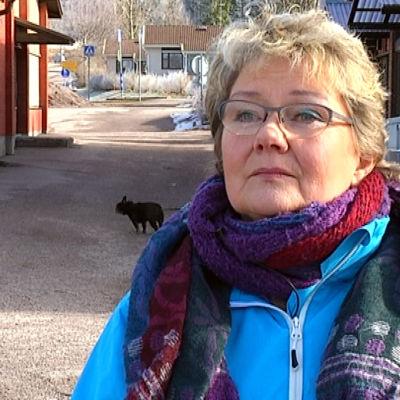 Porträttbild på Merja Laaksonen.