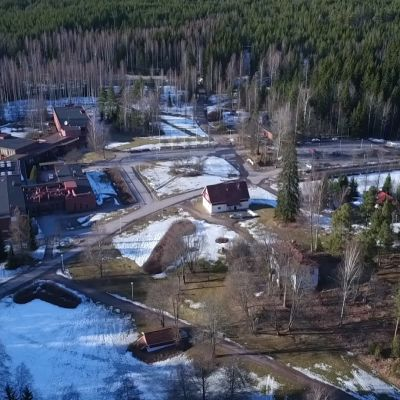 Siikaranta -niminen kurssikeskus Nuuksiossa.