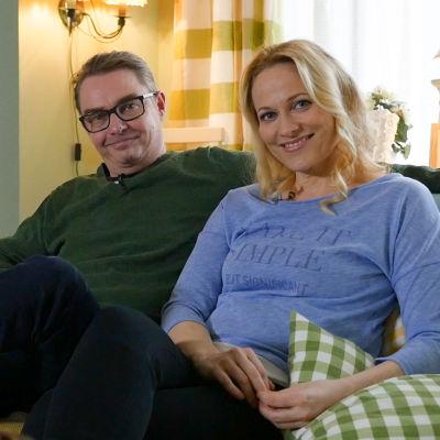 Kuvassa Antti Majanlahti ja Anu Niemi