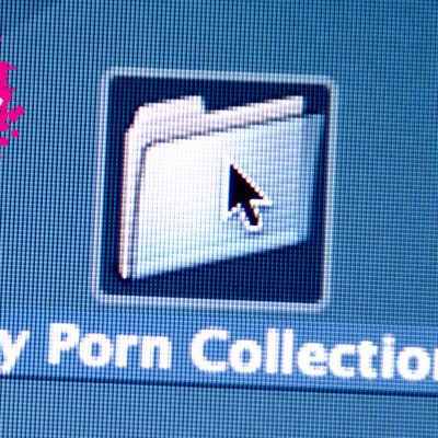 en mapp på datorn var det står my porn collection