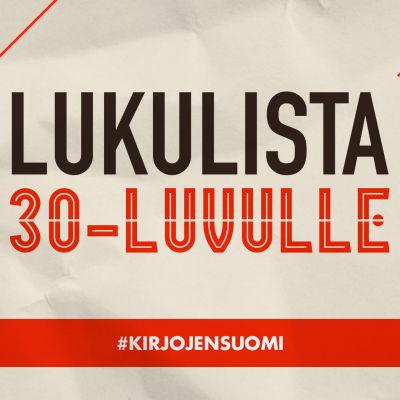Kirjojen Suomen lukulista 1930-luvulle