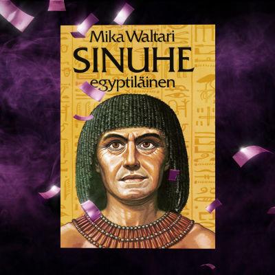 Sinuhe egyptiläinen teos konfettisateessa