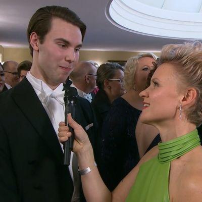 Frida Frankenhaeuser intervjuar Kaj Smeds.