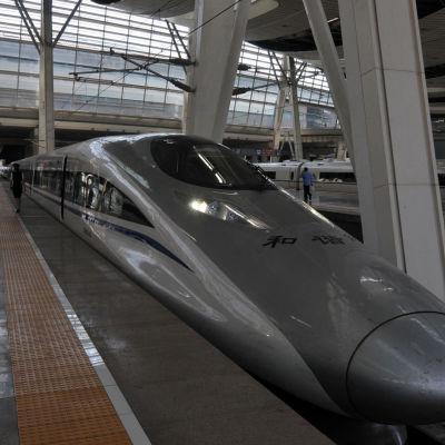 Luotijuna pekingistä shanghaihin