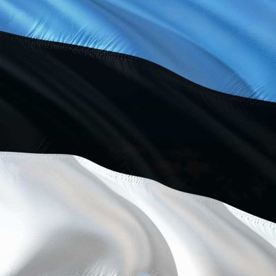 Estlands flagga
