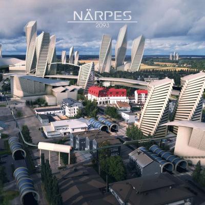 En vision om hur Näpres ser ut 2093.