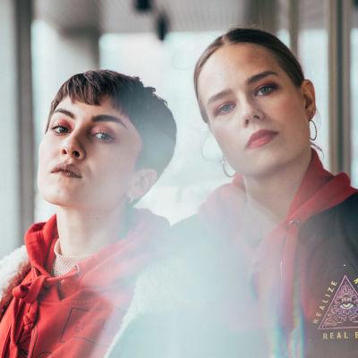 Rap-duo Sofan Fanni ja Sonja.