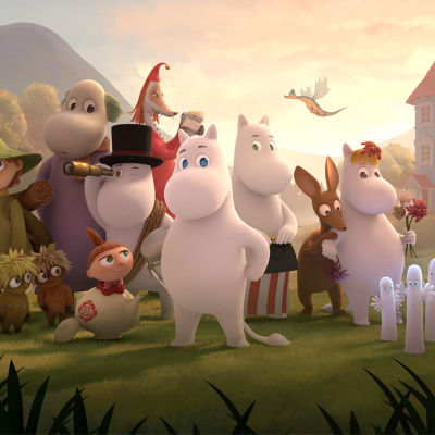 Ny animationsserie i februari 2019.