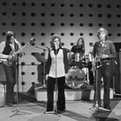 Haikara yhtye esiintyy 1972.
