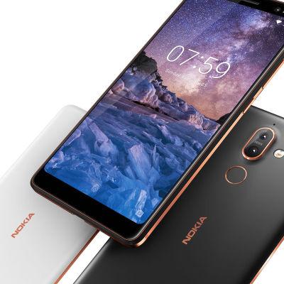 Nokia 7 Plus-telefoner