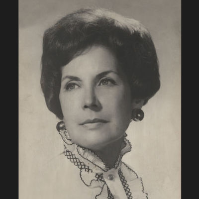 Hortensia Bussi de Allende.