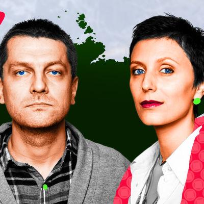 Kuva Aleksei Chupovista ja Natalia Merkulovasta.