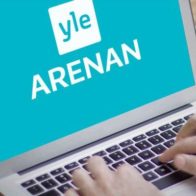 Yle Arenan via webbläsare