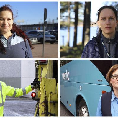Teresa Luode-Paakkinen, Katja Tyynilä, Janne Katila ja Riikka Pasi.