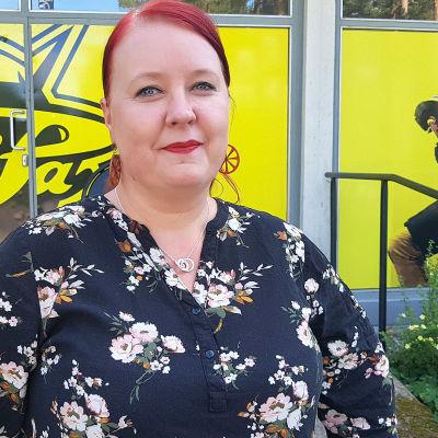 Lappeenrannan demareiden valtuustoryhmän puheenjohtaja Sanna Koskenranta