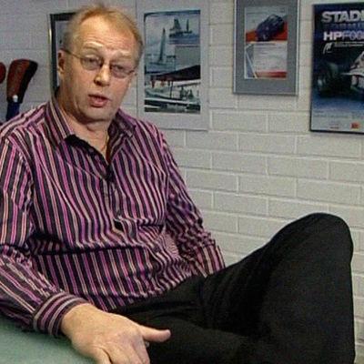 VW-Auto Groupin Audi-osaston myyntijohtaja Esko Kiesi vuonna 2009.