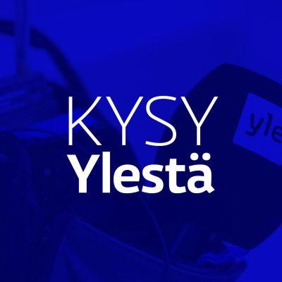 Kysy Ylestä -ohjelman tekstigrafiikka