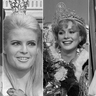 Miss Suomet Satu Östring, Leena Brusiin, Armi Aavikko ja