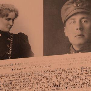 Elli ja Wäinö Sola.