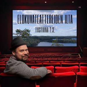 Olli Haapakangas elokuvateatterissa