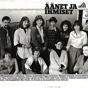 Ylen Kieliohjelmien toimitus v. 1978 Katso-lehden artikkelissa.