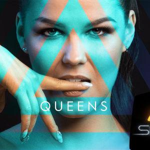 Saara Aallon UMK18-kilpailukappaleen Queens levynkansi