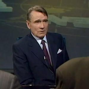 Mauno Koivisto Ajankohtaisen kakkosen haastattelussa (1990).