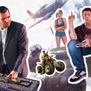 Toimintapelien hahmoja, aseita ja sotalentokoneita