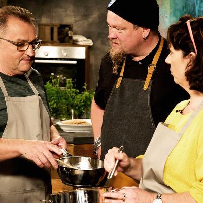 Ville Haapasalo tutustuu irlantilaiseen keittiöön.