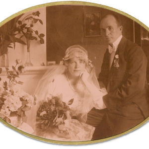 Väinö Pesola ja Esteri Salminen 1920