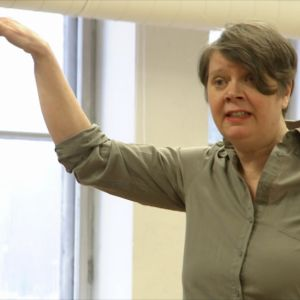 Annika Tudeer i soloperformansen Annika gör Svansjön