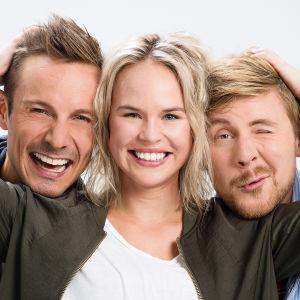 Jonathan Granbacka, Malin Olkkola och Staffan Gräsbeck