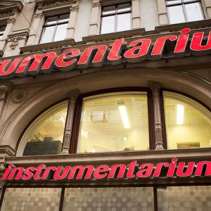 Instrumentarium på Aleksandersgatan.