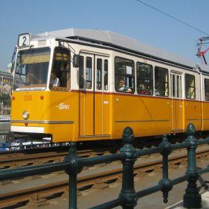 Raitiovaunu Budapestissä