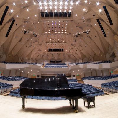 Tampere-talon konserttisali.