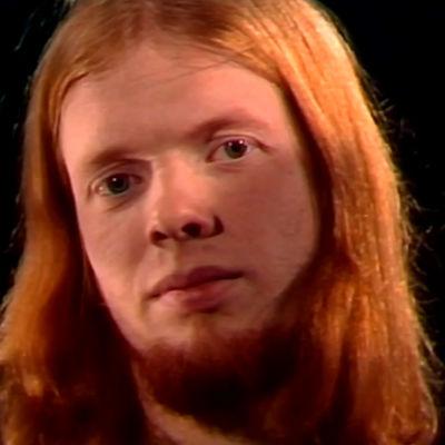 Heikki Silvennoinen Tabula Rasa -yhtyeessä (1976).